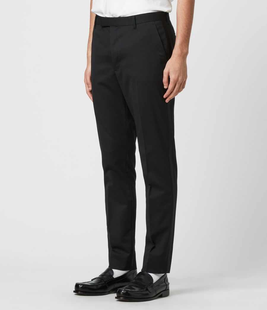 Men's Fulbeck Trousers (black) - Image 3