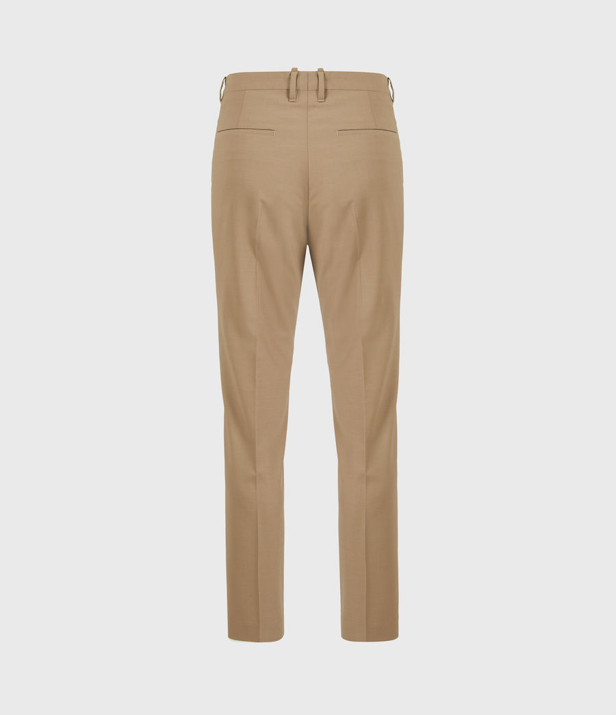 Herren Cleaver Cropped Slim Trousers (caenstone_brown) - Image 3