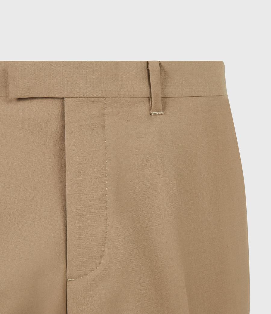 Herren Cleaver Cropped Slim Trousers (caenstone_brown) - Image 5