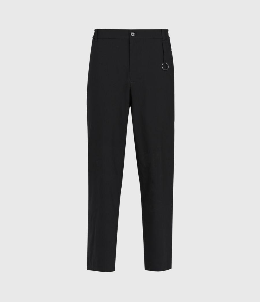 Hommes Pantalon Droit Raccourci Langley (black) - Image 2