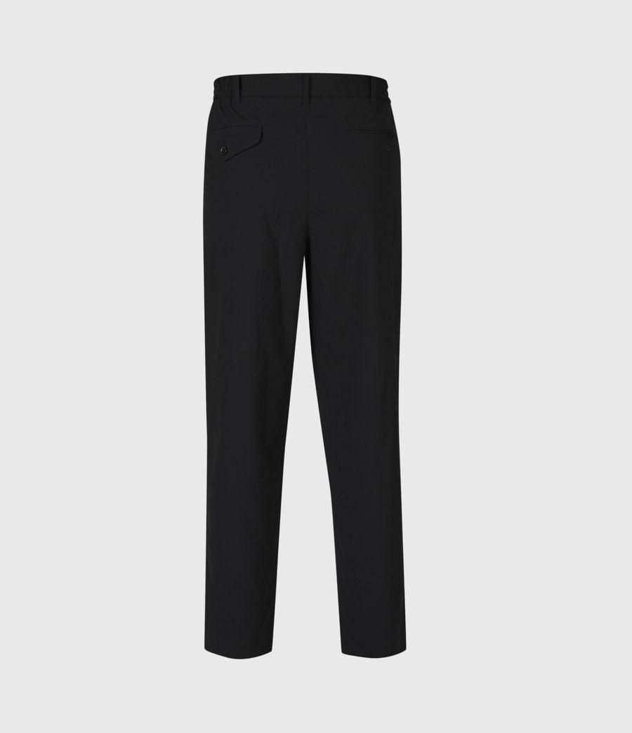 Hommes Pantalon Droit Raccourci Langley (black) - Image 3