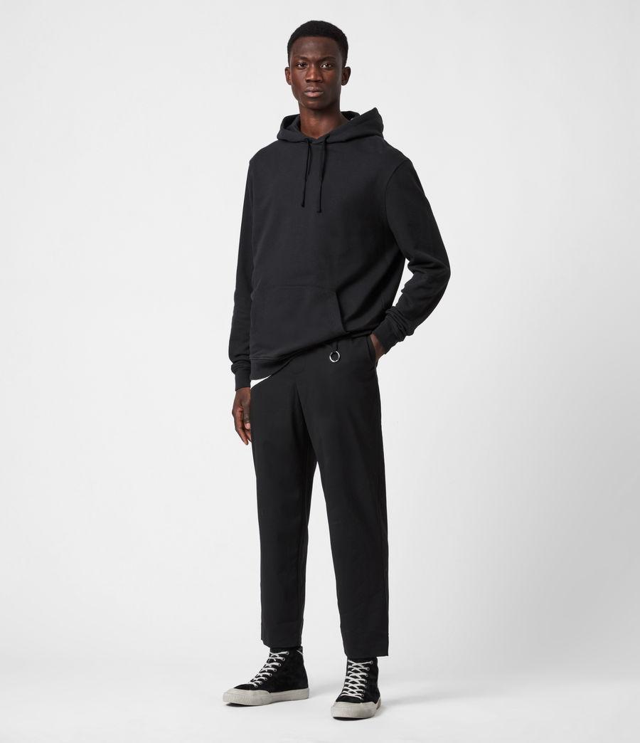 Hommes Pantalon Droit Raccourci Langley (black) - Image 4