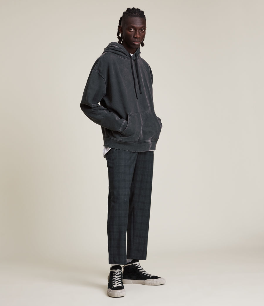 Men's Bout Cropped Slim Trousers (charcoal) - Image 4