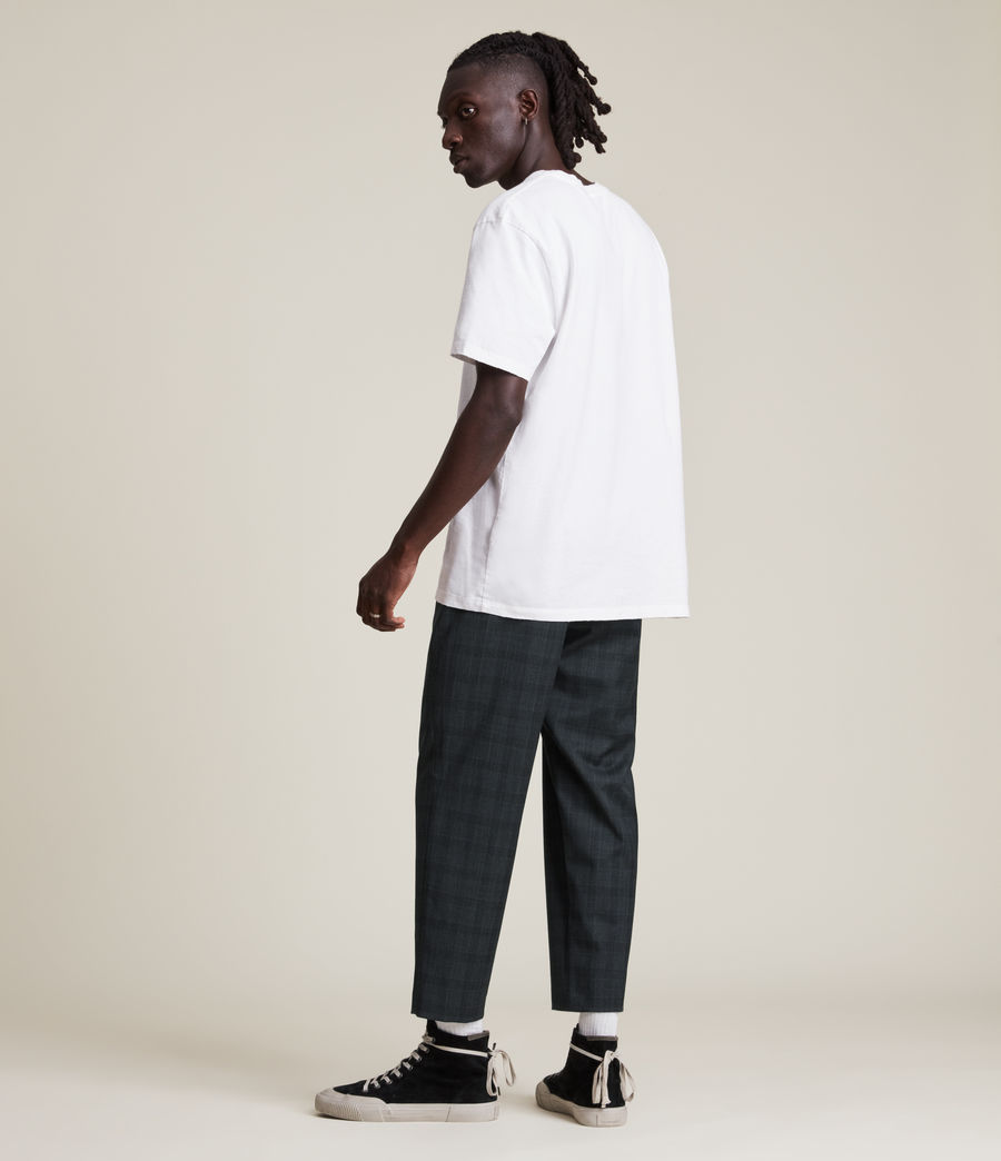 Men's Bout Cropped Slim Trousers (charcoal) - Image 5