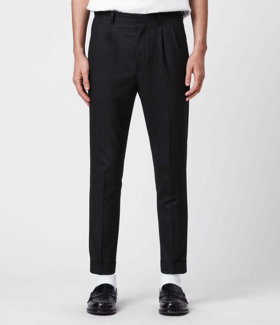 Men's Lanark Trousers (black) - Image 1