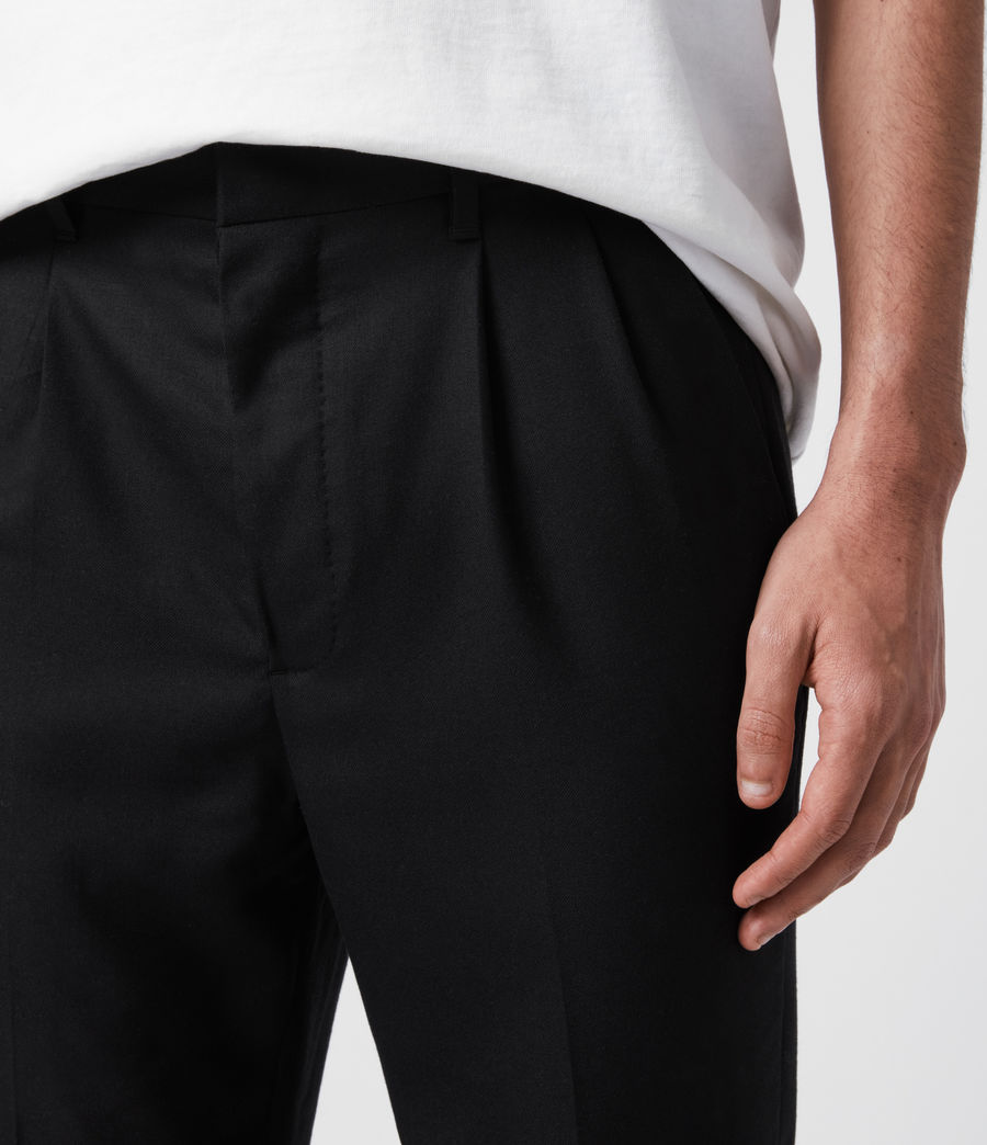 Men's Lanark Trousers (black) - Image 2