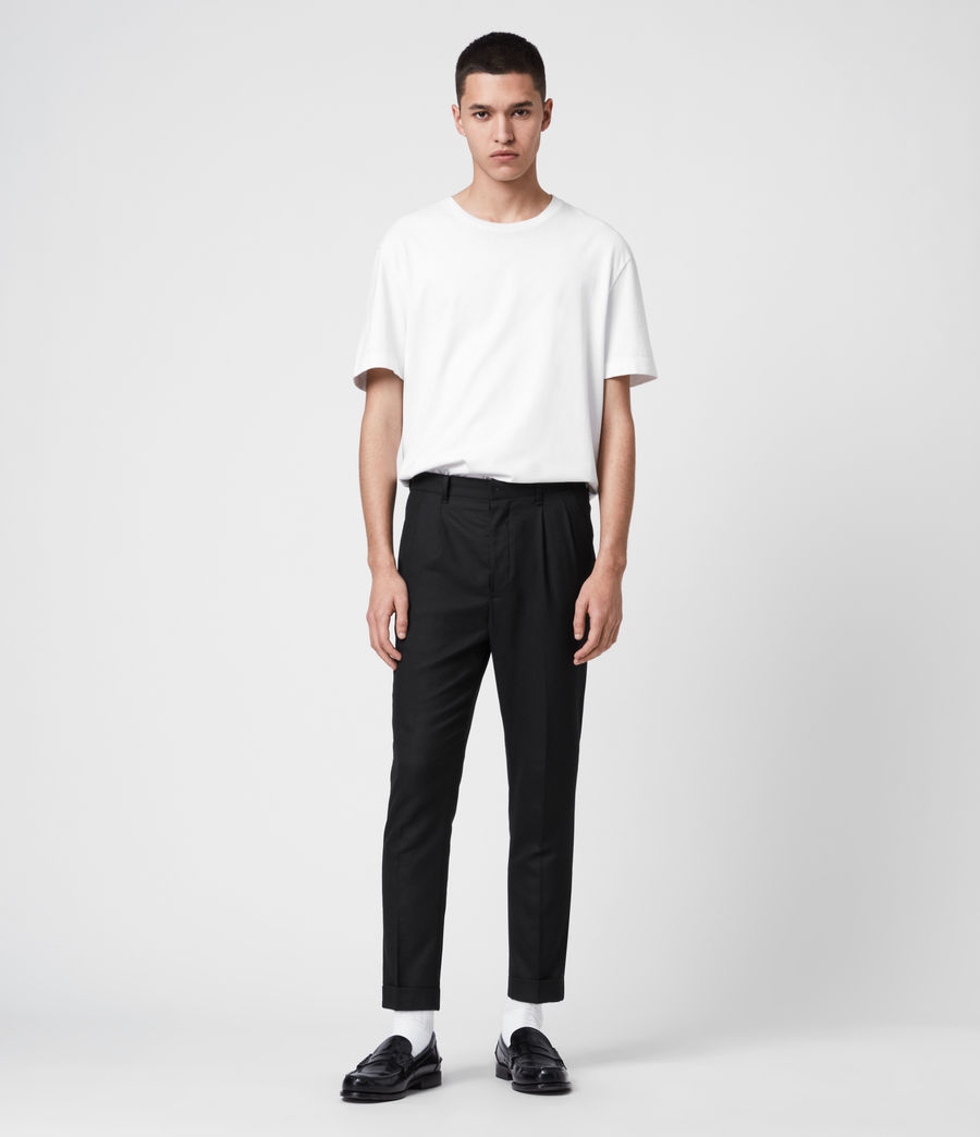 Men's Lanark Trousers (black) - Image 3