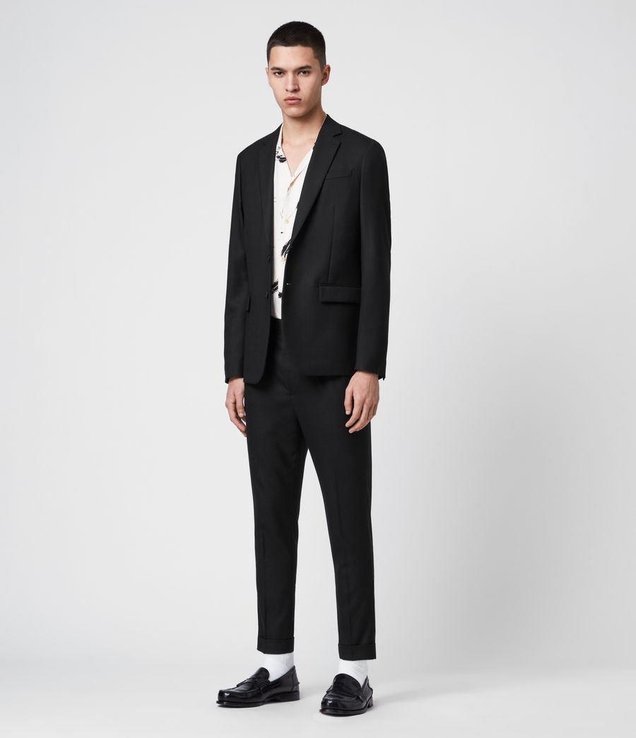 Men's Lanark Trousers (black) - Image 4