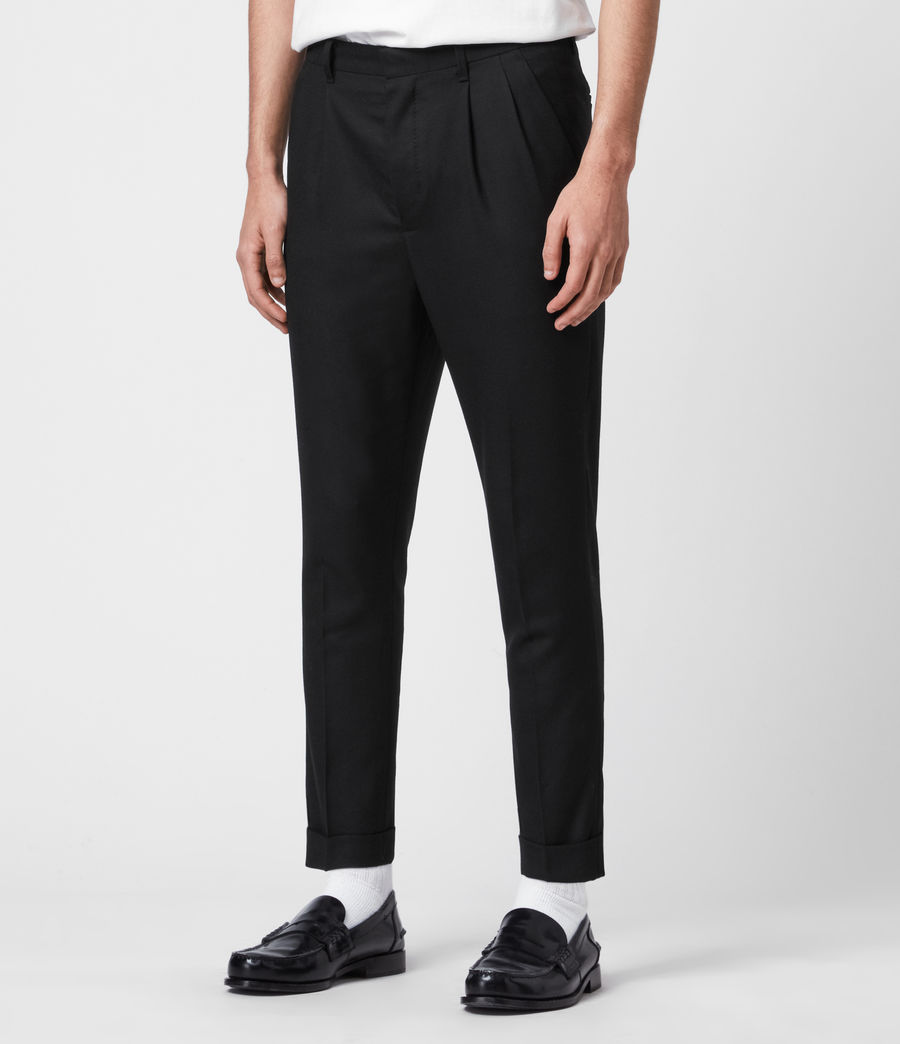 Men's Lanark Trousers (black) - Image 5