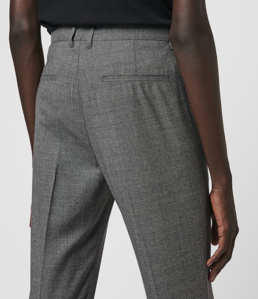 Hombre Arlow Wool Cropped Slim Pants (light_grey) - Image 2