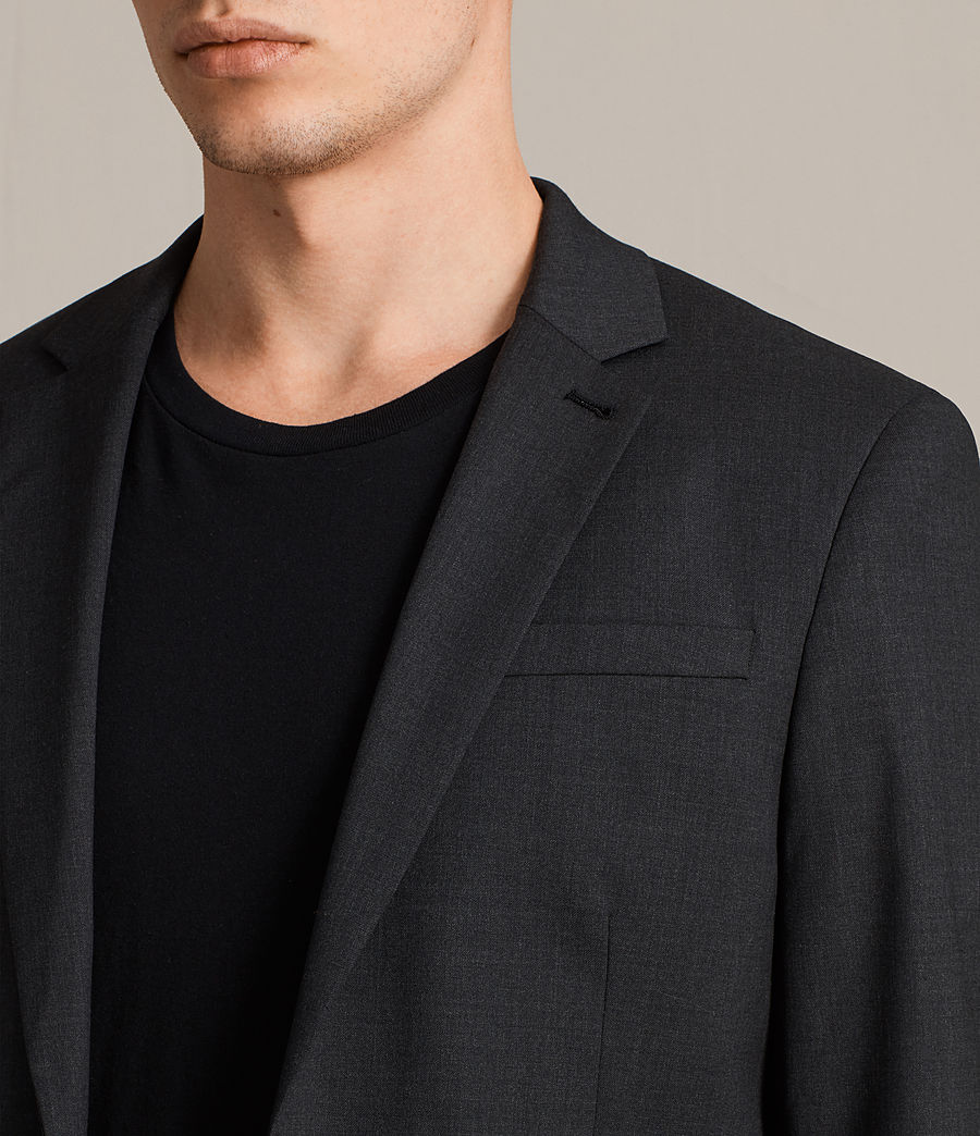 Hommes Blazer Gale (charcoal_grey) - Image 2