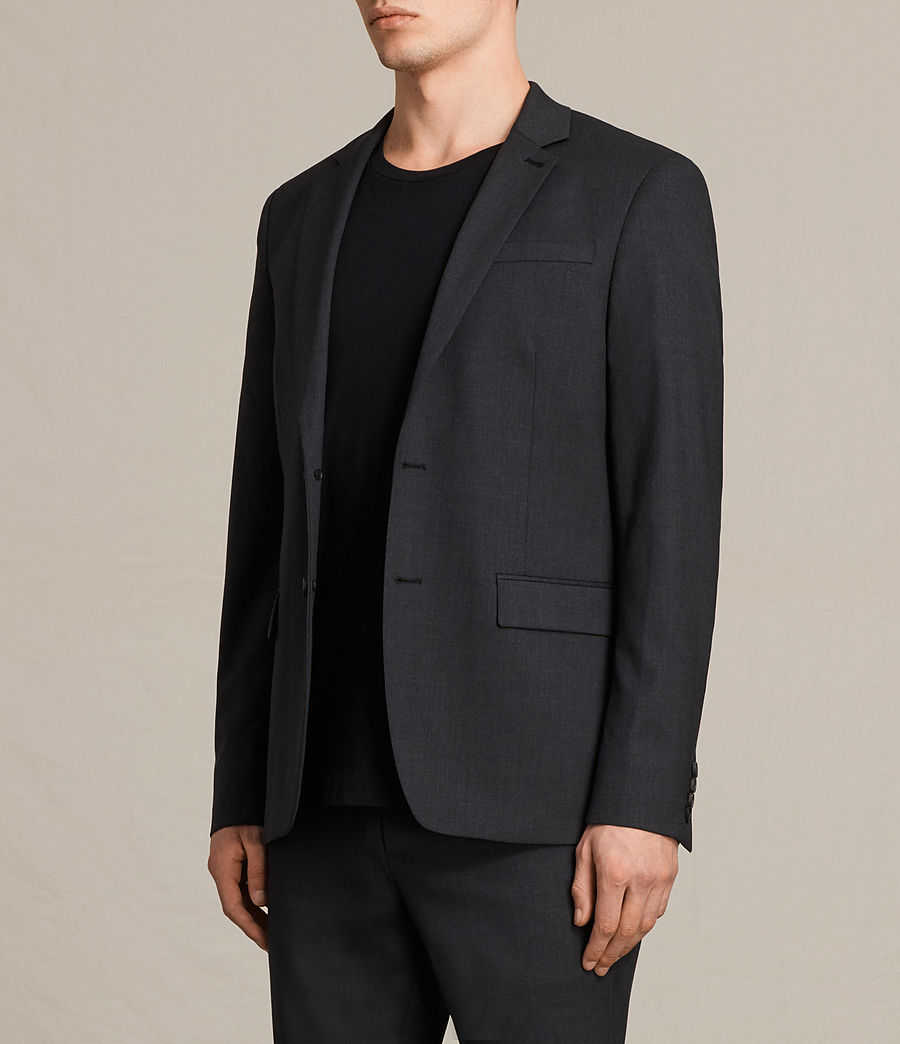 Hommes Blazer Gale (charcoal_grey) - Image 4