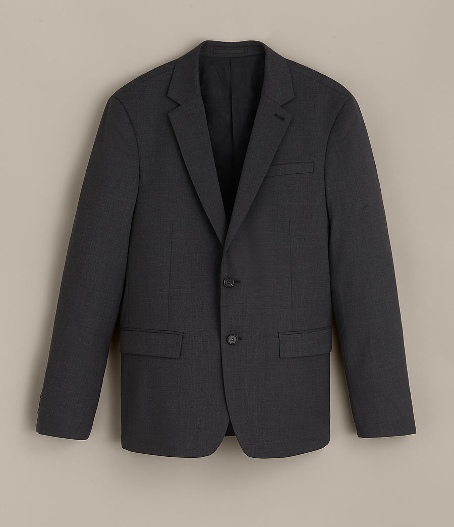 Hommes Blazer Gale (charcoal_grey) - Image 6