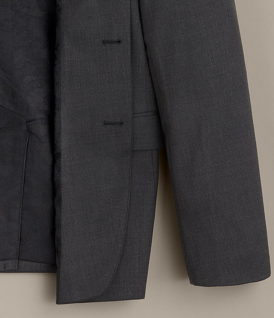 Hommes Blazer Gale (charcoal_grey) - Image 7