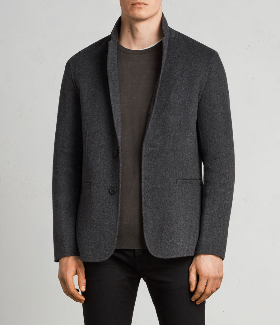 Men's Ferme Blazer (charcoal) - Image 1