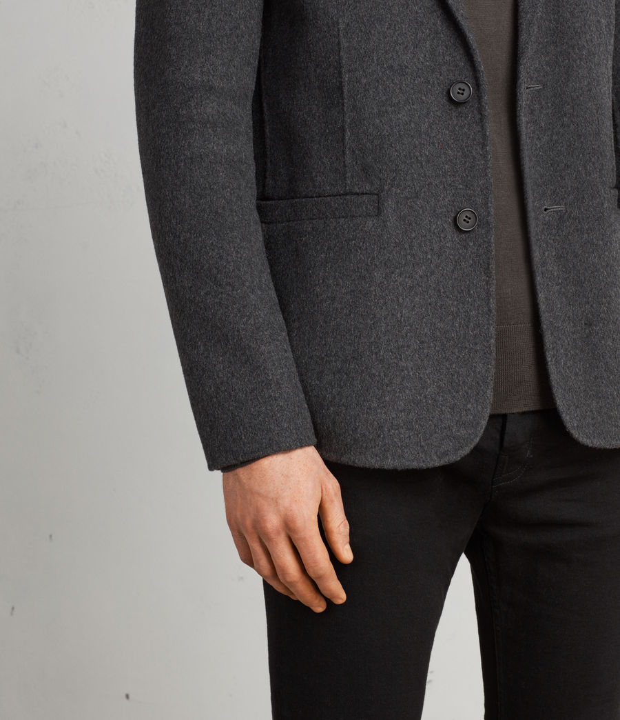 Men's Ferme Blazer (charcoal) - Image 2