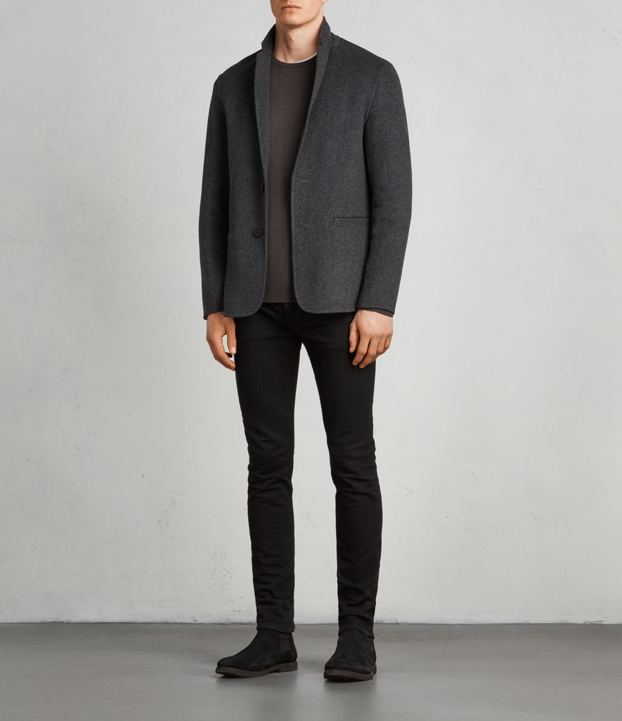 Men's Ferme Blazer (charcoal) - Image 3