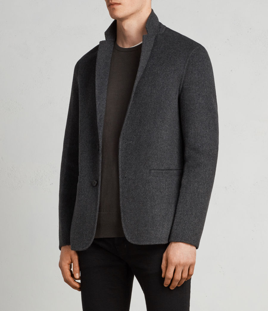Men's Ferme Blazer (charcoal) - Image 4