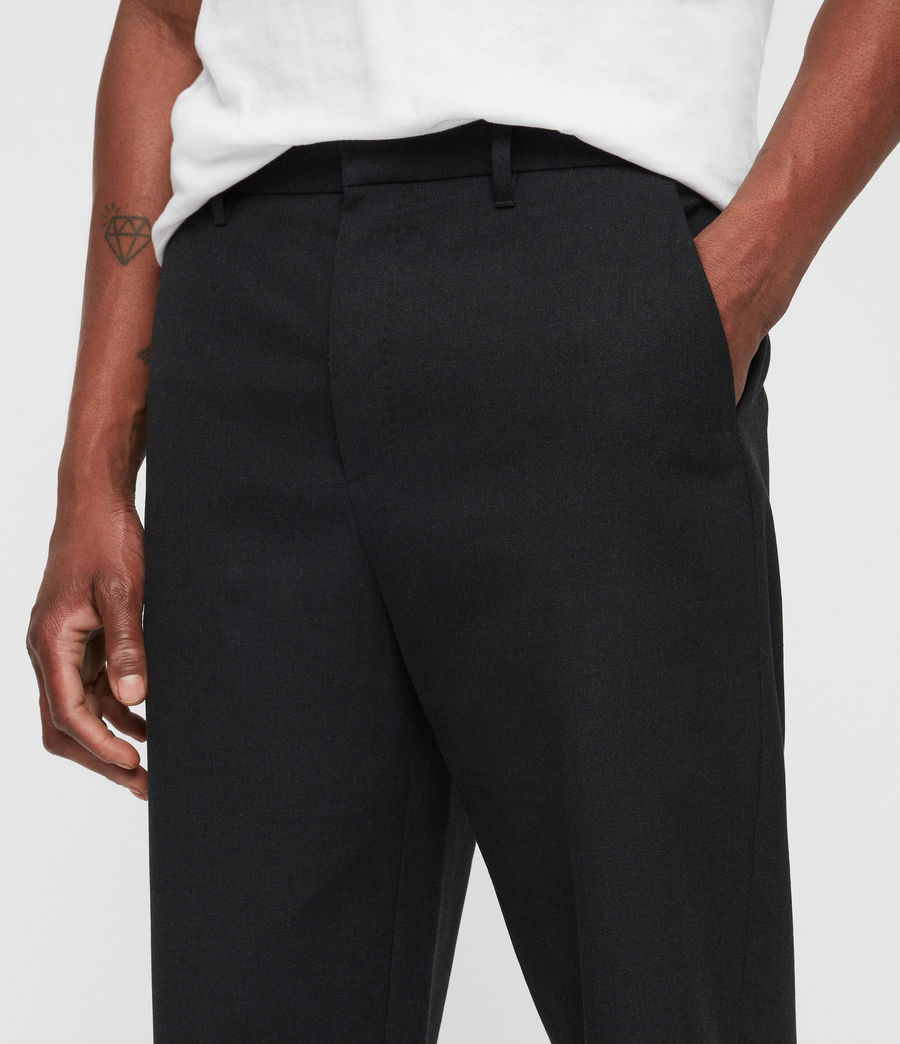 Herren Miro Trousers (charcoal_grey) - Image 2