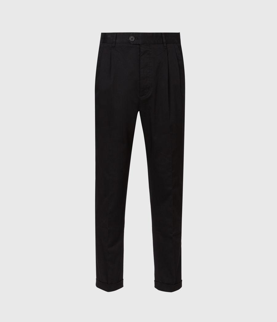 Mens Javan Cropped Slim Pants (ink) - Image 2