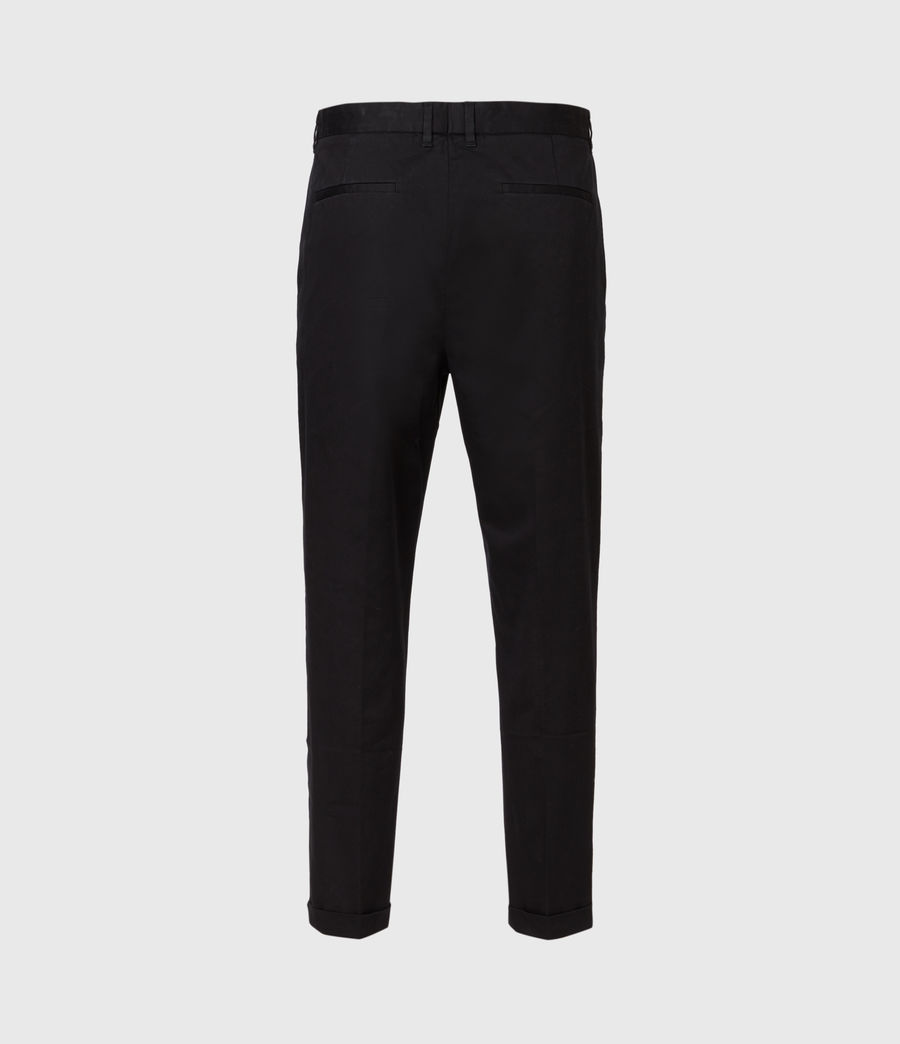 Mens Javan Cropped Slim Pants (ink) - Image 3
