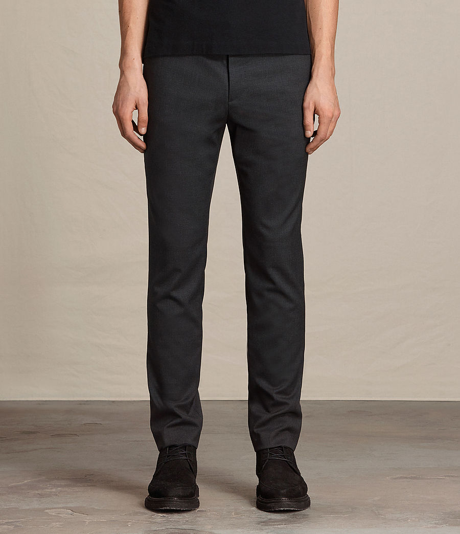 Hombres Pantalones Gale (charcoal_grey) - Image 1