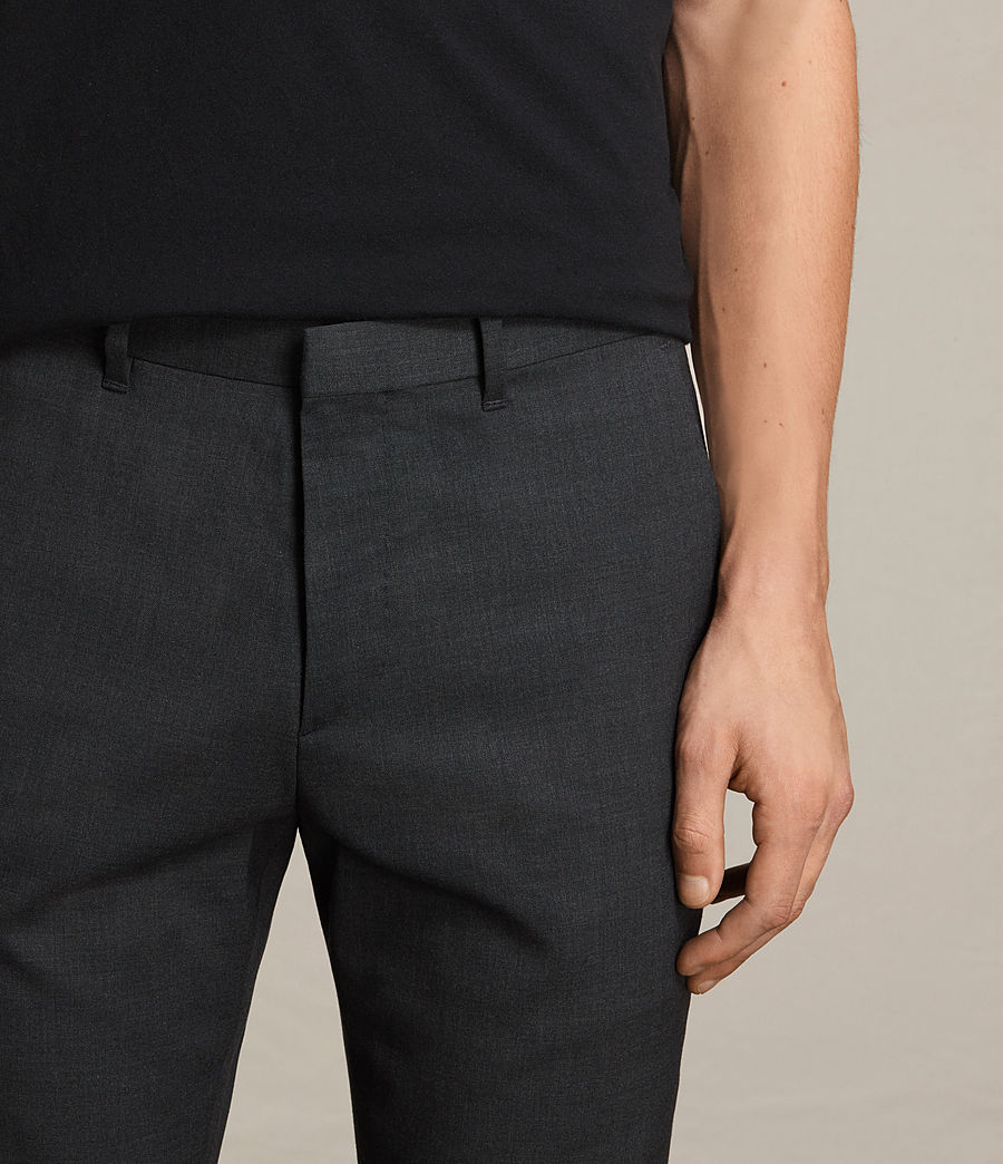 Hombres Pantalones Gale (charcoal_grey) - Image 2