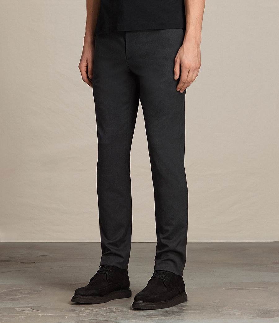 Hombres Pantalones Gale (charcoal_grey) - Image 3