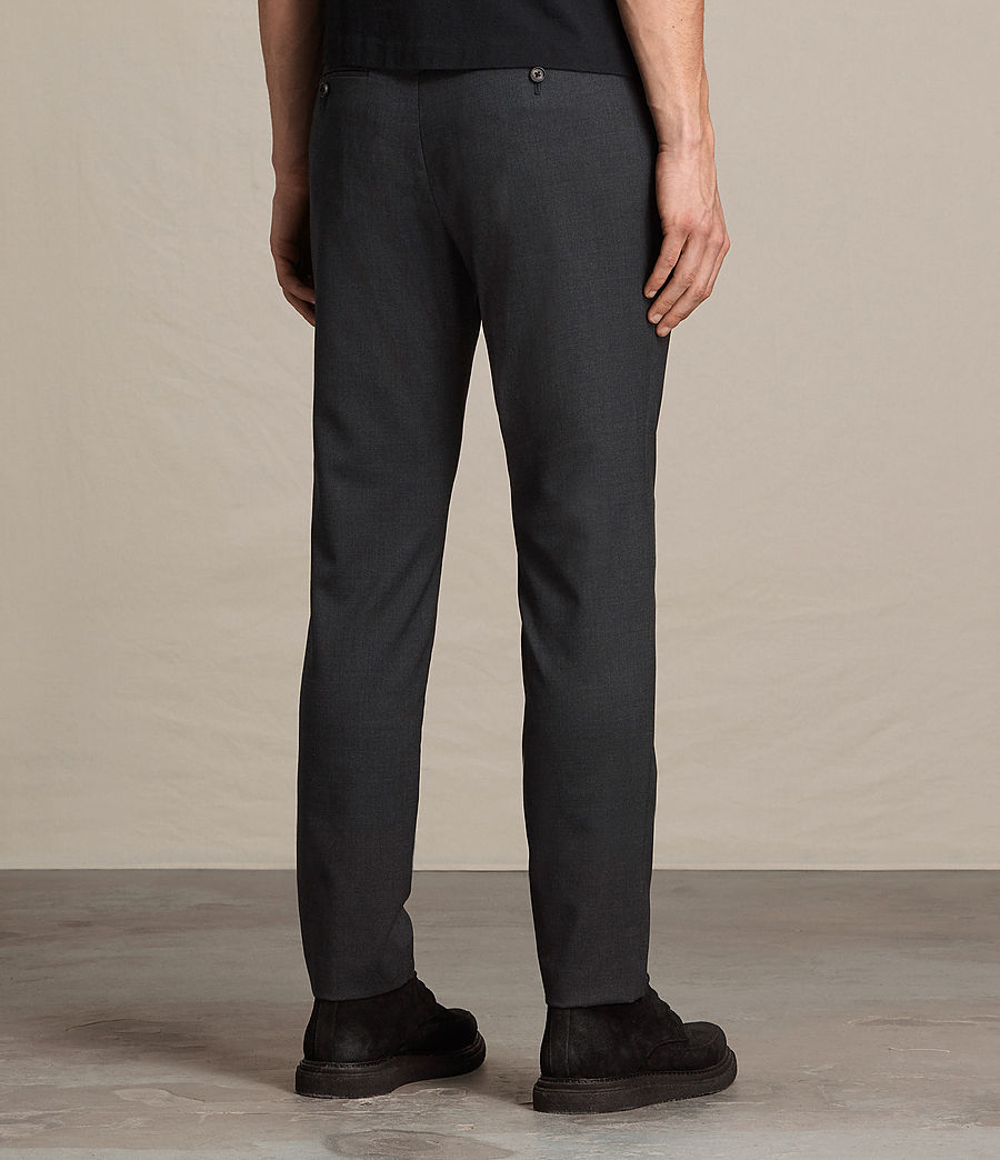 Hombres Pantalones Gale (charcoal_grey) - Image 4