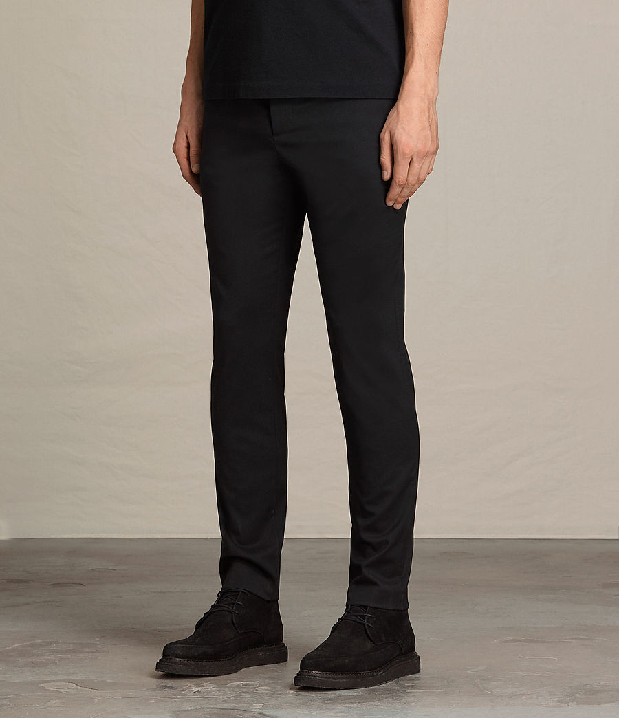 Hommes Pantalon Gale (black) - Image 3