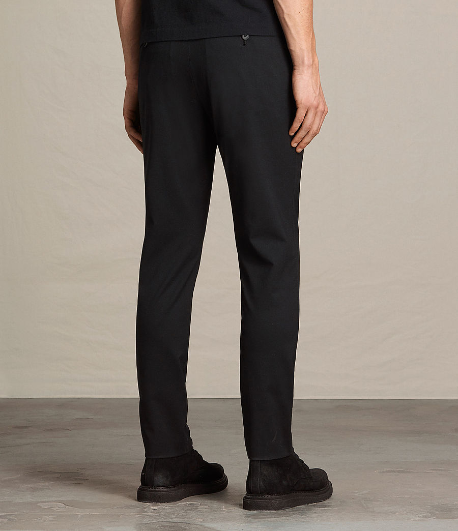 Hommes Pantalon Gale (black) - Image 4