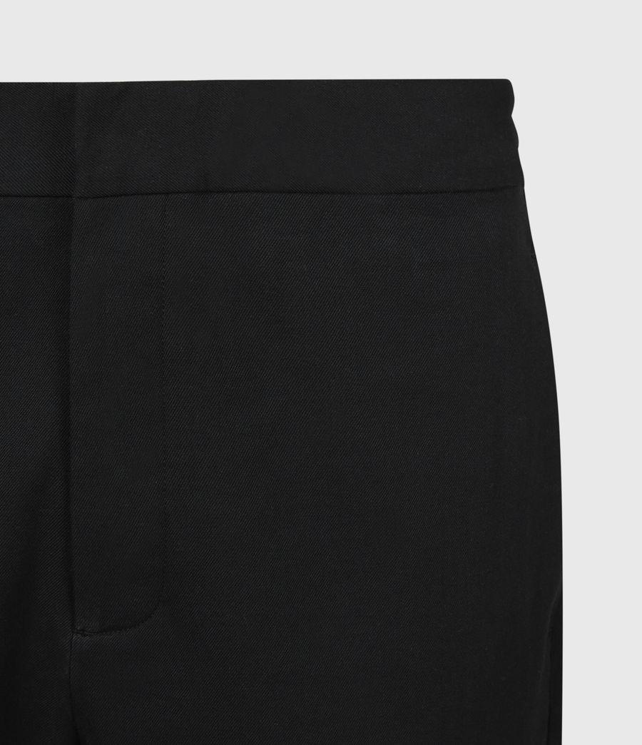 Men's Harding Slim Cropped Trousers (black) - Image 5