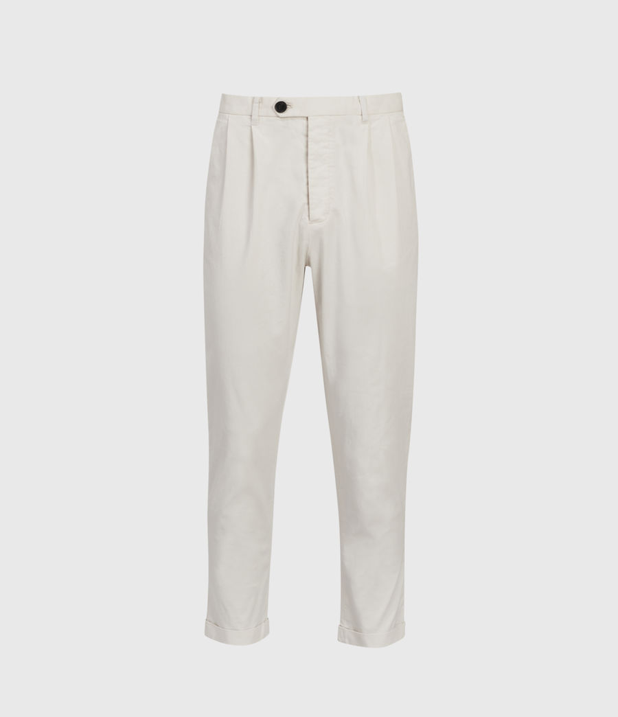 Men's Andaman Slim Trousers (oyster) - Image 2