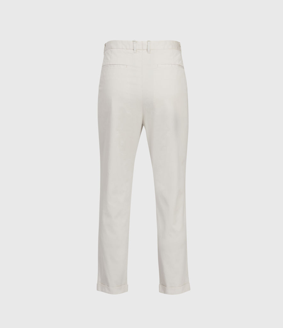 Men's Andaman Slim Trousers (oyster) - Image 3