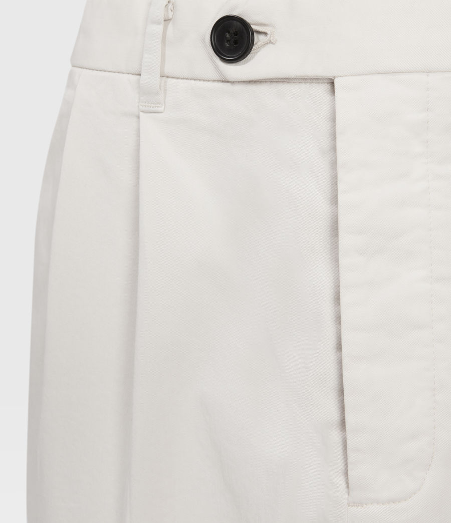 Men's Andaman Slim Trousers (oyster) - Image 4