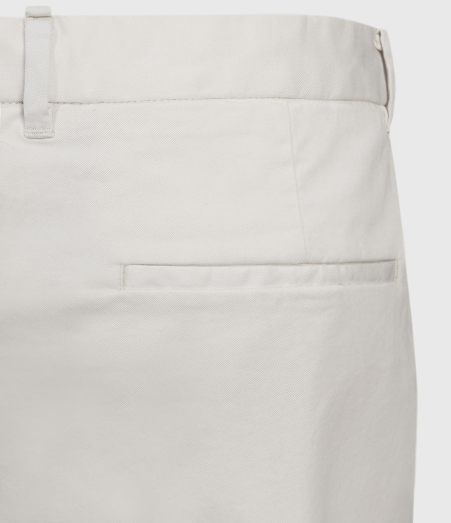 Men's Andaman Slim Trousers (oyster) - Image 5