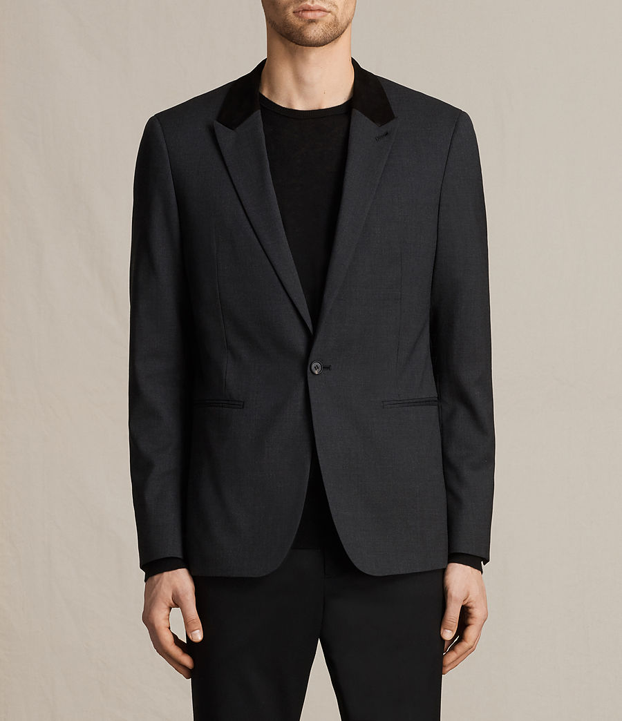 Men's Mavis Blazer (charcoal_grey) - Image 1