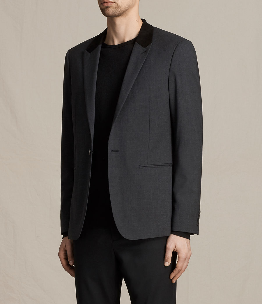 Men's Mavis Blazer (charcoal_grey) - Image 3