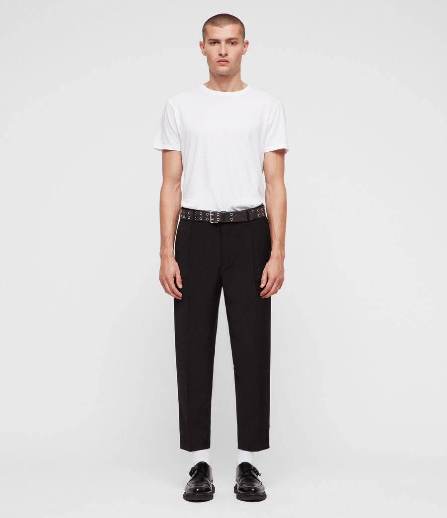 Men's Siris Trousers (black) - Image 3
