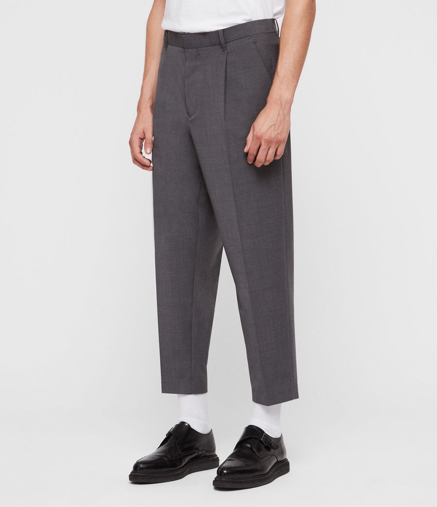 Men's Siris Trouser (grey) - Image 3