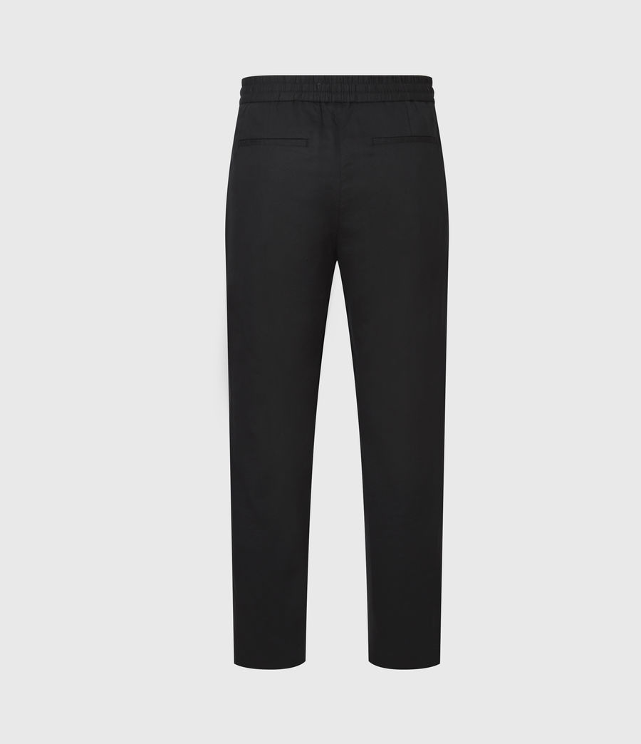 Mens Algol Cropped Slim Pants (black) - Image 3