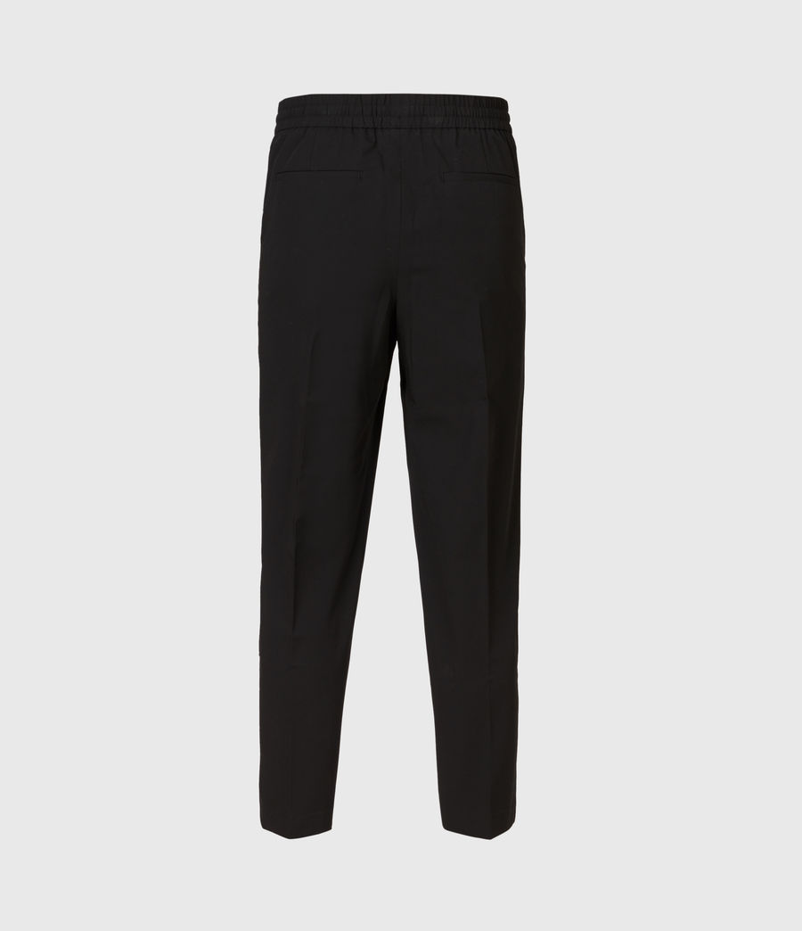 Mens Alcor Cropped Slim Pants (black) - Image 3