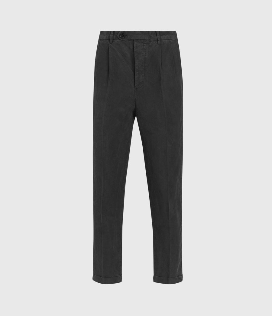 Hombres Vaga Slim Trousers (washed_black) - Image 1
