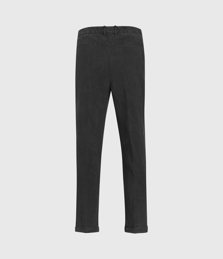Mens Vaga Slim Pants (washed_black) - Image 2