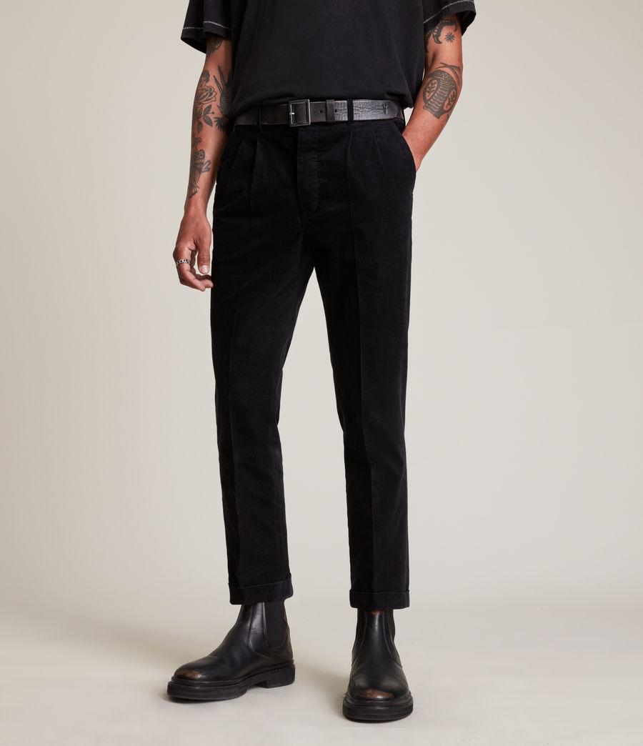 Mens Kiels Pants (black) - Image 2