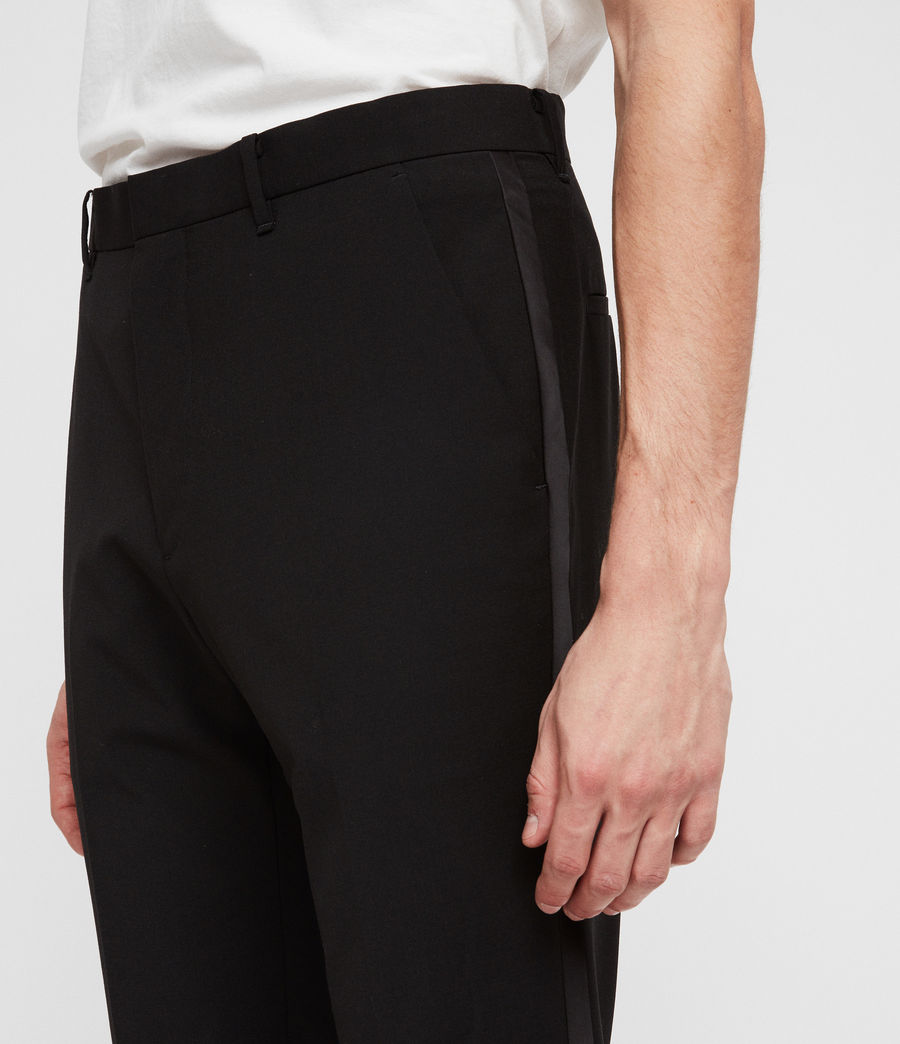 Men's Klint Trousers (black) - Image 2