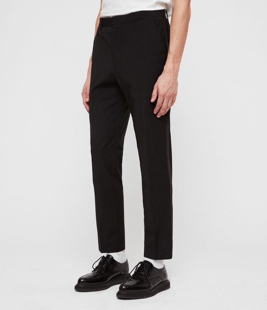 Men's Klint Trousers (black) - Image 4
