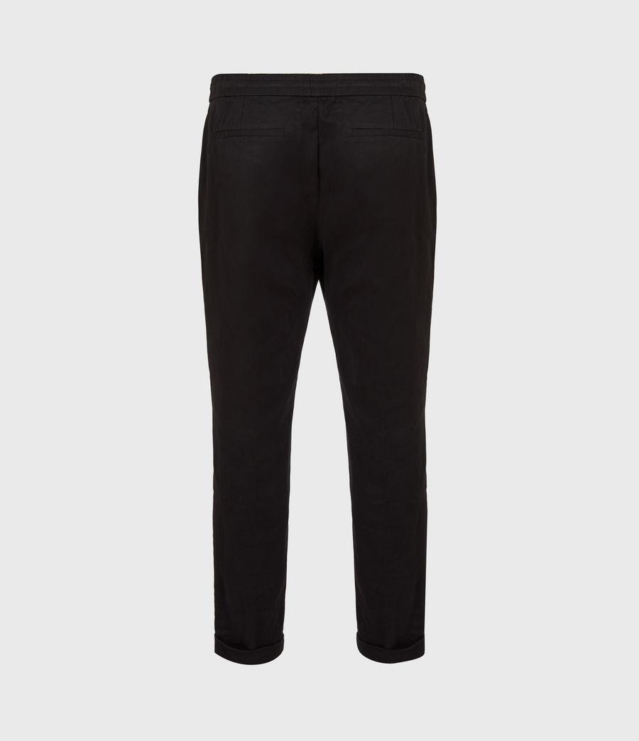 Men's Dix Cropped Slim Trousers (black) - Image 3