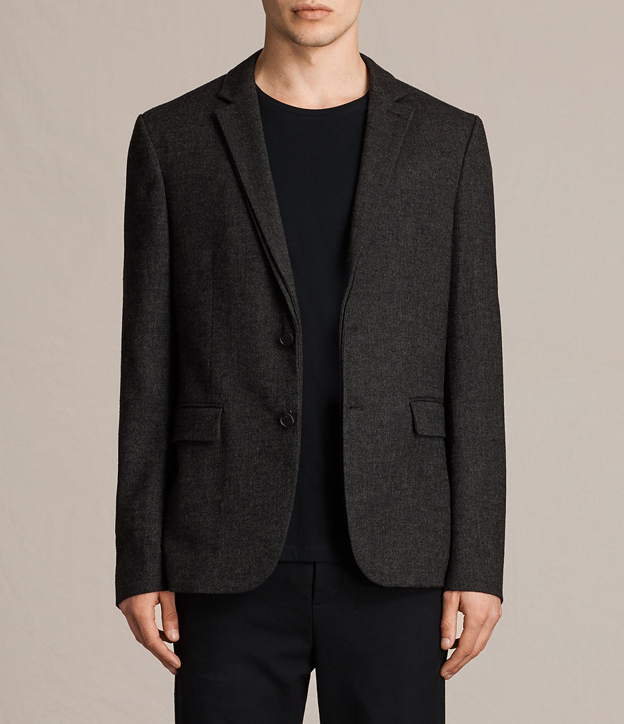 Hombres Blazer Dayton (charcoal_grey) - Image 1
