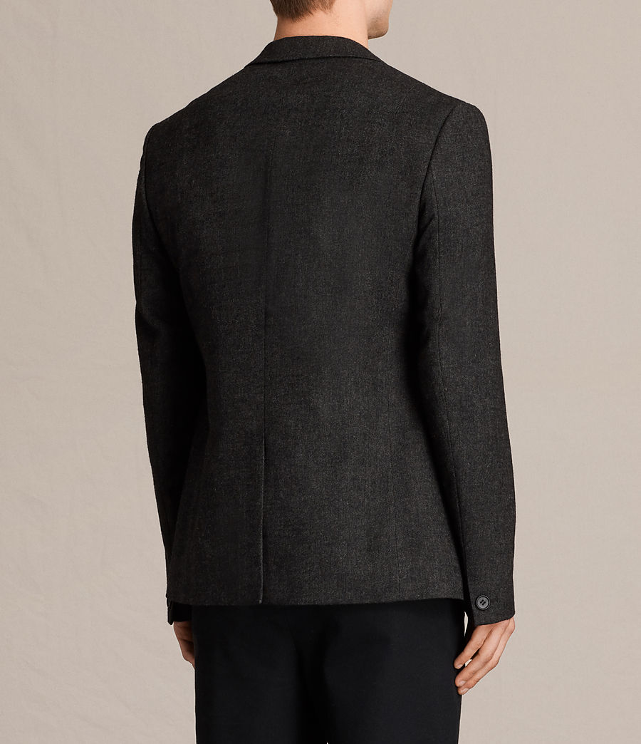 Hombres Blazer Dayton (charcoal_grey) - Image 4